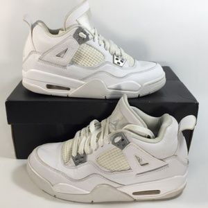Nike Air Jordan 4 Retro, 'Pure Money' Sz 5.5Y